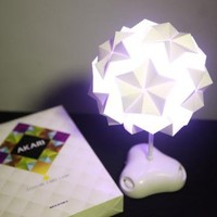 LED Origami Lamp by goodbuy on Zibbet