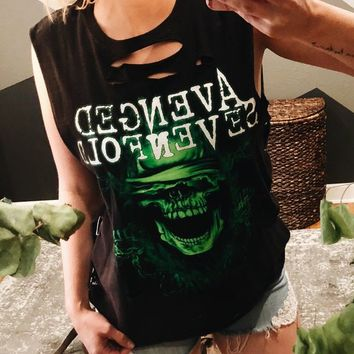 Distressed Avenged Sevenfold Muscle Tee