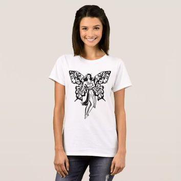 Hawaiian Hula girl Butterfly Fairy T-Shirt