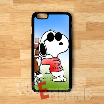 snoopy joe cool-1n1 for iPhone 6S case, iPhone 5s case, iPhone 6 case, iPhone 4S, Samsung S6 Edge