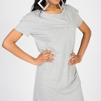 Throw-On Something T-shirt Dress