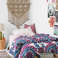 Magical Thinking Wood Block Medallion Bed-In-A-Bag Snooze Set- Purple