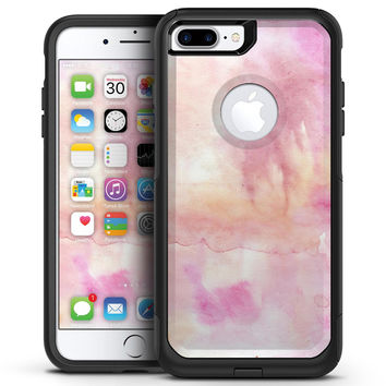 Pink 32 Absorbed Watercolor Texture - iPhone 7 or 7 Plus Commuter Case Skin Kit