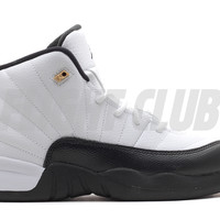 "air jordan 12 retro (ps) ""taxi 2013 release"" - white/black-taxi-varsity red - Air Jordan 12 - Air Jordans 