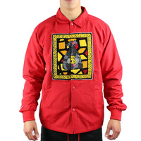 Red Doctrine Coaches Jacket