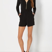 Weekend Adventurer Black Romper | Jumpsuits & Rompers | rue21