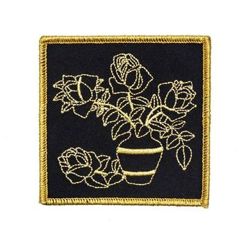 Harder To Love Flower Vase Patch