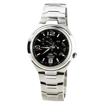 Orient ET06001B Mens Multi Eyes Urban Automatic Black Dial Stainless Steel Watch