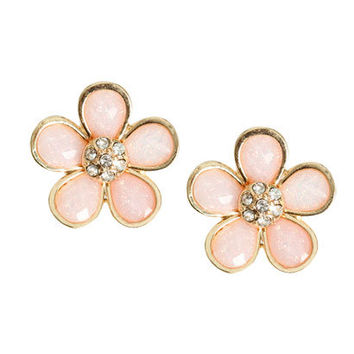 Flower Daisy Button Earring   Shop Accessories at Wet Seal