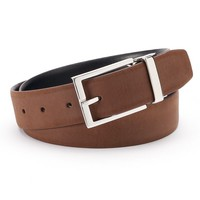 Chaps Ultra Suede Reversible Belt - Men, Size: