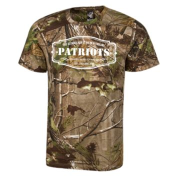 The Ultimate Fan Of The New England Patriots Short Sleeve Camouflage TShirt