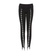 Gothic Laced Corset Leggings