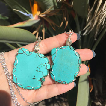 Turquoise Friendship Necklaces