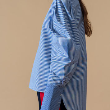 Oversized Sleeved Blouse