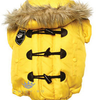 Dog Clothes, Kwigy-Bo Designer Parka, Boutique, Jacket, Pet, Luxury, High End, Couture, Puppy, Chic