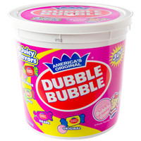 Dubble Bubble Gum - Assorted: 300-Piece Tub