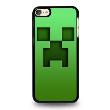 CREEPER MINECRAFT iPod Touch 4 5 6 Case Cover