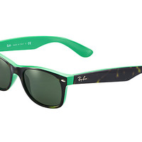 Look who's looking at this new Ray-Ban New Wayfarer Color Mix