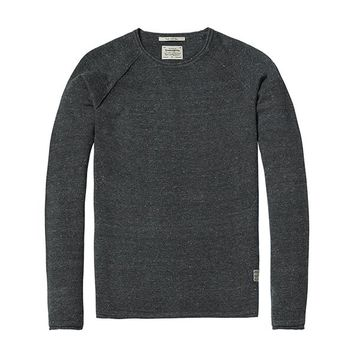 Crew Neck Sweater Charcoal