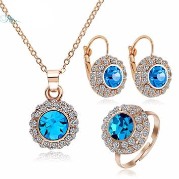 Sparkly Vintage Rhinestone Crystal Bridal Jewelry Sets, Ideal Jewelry GIFT for women