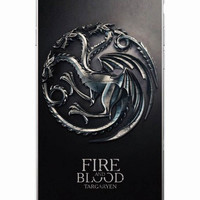 Game Of Thrones HQ Embossed Daenerys Taragaryen Fire and Blood Soft Phone Case For iPhone 7 7Plus 6 6S 6Plus 5 5S 5C