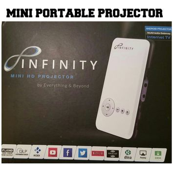 Infinity Mini Portable Projector