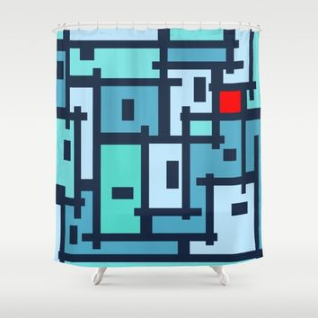 Urban Abstract for Ot Shower Curtain by Barruf Designs