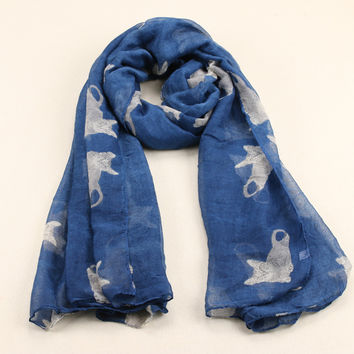 winter and summer style cut cat scarf women cachecol feminino Infinity Scarf  Casual  brand scarf  Shawl 180*95cm