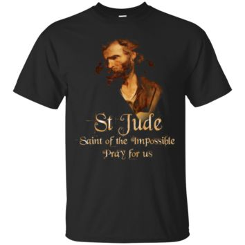 St Jude Patron Saint Of The Impossible Catholic T-Shirt Hoodie