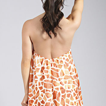 Show Me Your Mumu: Katy Halter Dress - Sophie Spots