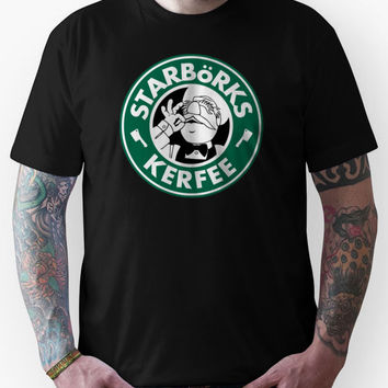 'Starbo¨rks Kerfee' (Starbucks / The Swedish Chef) Unisex T-Shirt