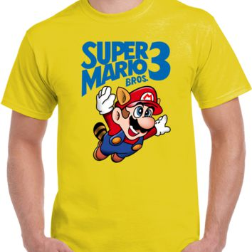 Video Games Super Mario Bros 3 Hot Sell  T Shirt