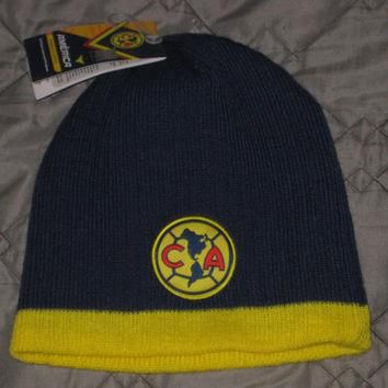 Sale!! Club America Soccer Beanie Winter Hat Cap Skullie Mexico Football Jersey Shirt