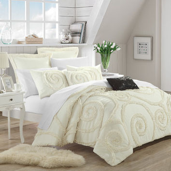 Chic Home Rosalia 7 Piece Comforter Set U0026 Reviews | Wayfair
