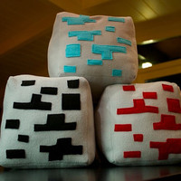 Minecraft Cube Pillows