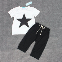 Three small fish model Cotton Baby Boy Clothes