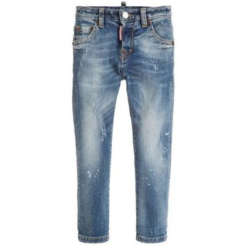 NOV9O2 Dsquared2 Boys Blue 'Cool Jeans'