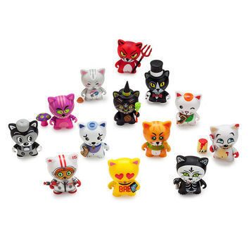 "Tricky Cats Blind Box 3"" Mini Series"