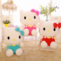 20cm Lovely Hello Kitty Plush Dolls For kids toys Stuffed Plush Animals Toys Soft Toy Doll For Girls Birthday Gifts