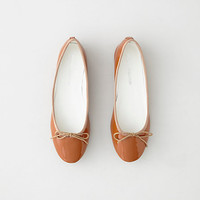 PATENT LEATHER BALLET FLAT