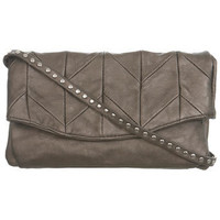 Gold Patchwork Bag - Miss Selfridge