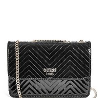 Haute Romance Quilted Crossbody at Guess
