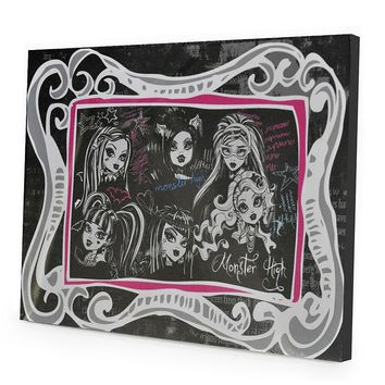 Monster High LED Light-Up Canvas Wall Art