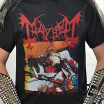 MAYHEM - Dawn Of The Black Hearts (T-Shirt)