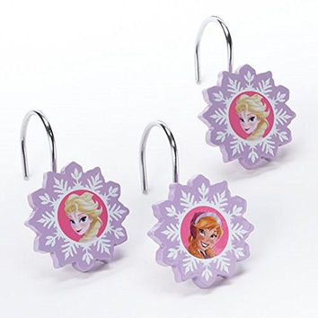 Disney Frozen Lovely Shower Curtain Hooks