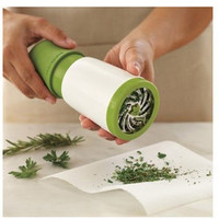 1pc herb grinder Spice Mill Parsley Shredder Chopper Fruit Vegetable Cutter cooking kitchen tools