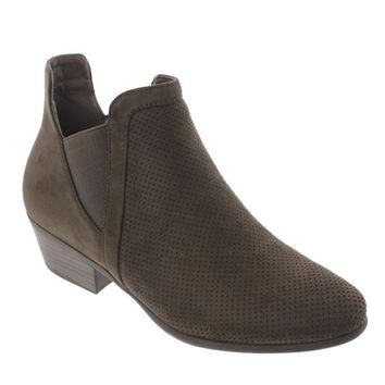 Rider-05 Perforated Ankle Boot