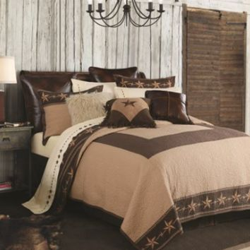 Cowgirl Kim~ Star Ranch Reversible Bedding Set