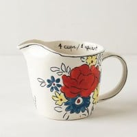 Flowerpatch Measuring Cup by Molly Hatch Multi One Size Kitchen