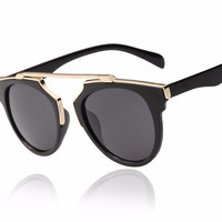 Women's New Fashion Cat Eye Mirrored Sunglasses